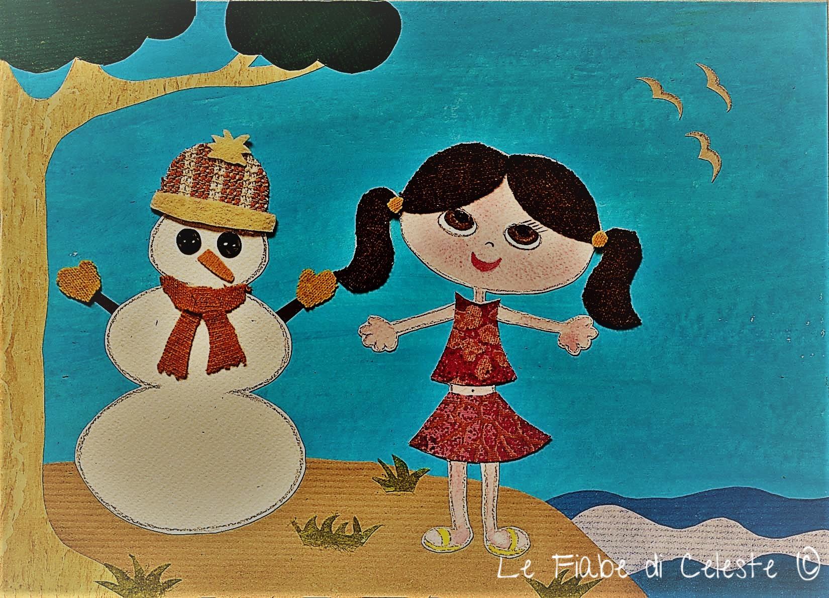 Juliana e il pupazzo di neve